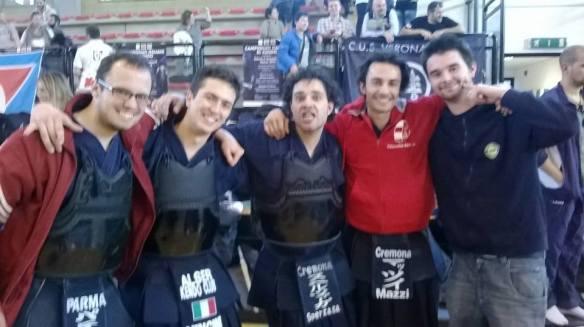 Foto del Sandojo ai campionati italiani 2014