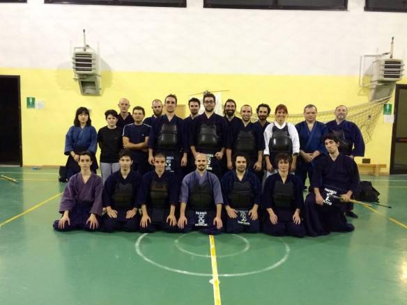 Foto di gruppo con gli amici di Cremona e Piacenza