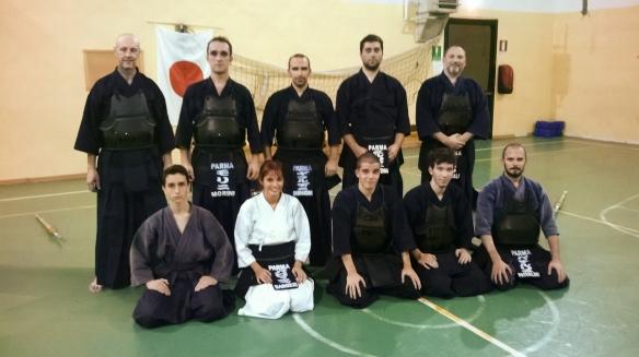Parma Kendo Kai - allenamento del 21/10/2014