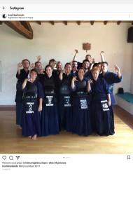 foto di gruppo ritir koshi 2017